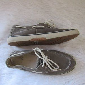 Sperry Top-Sider 0777867 Gray Boat Shoes Size 12
